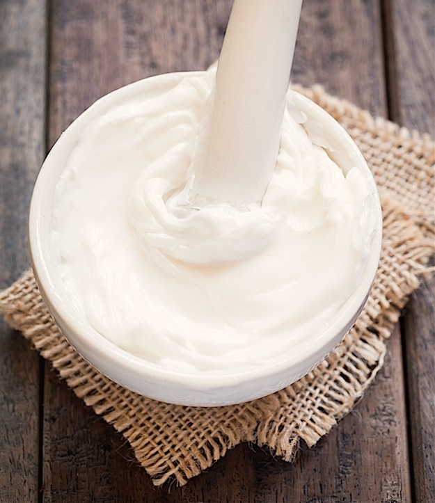 Easy DIY night cream made with just 3 ingredients! This could also be used as a body butter! It's so luxurious! It's perfect for moisturizing, fine lines and healing dry, dull skin. Instrupix.com