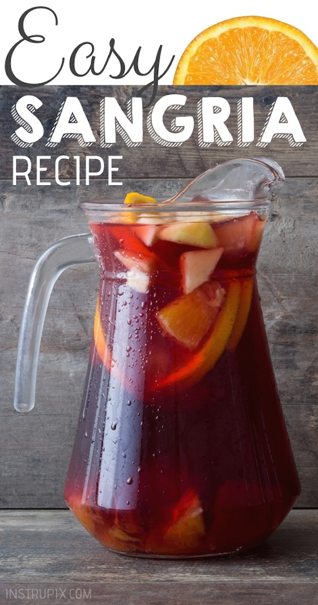 Easy Classic Red Sangria Recipe