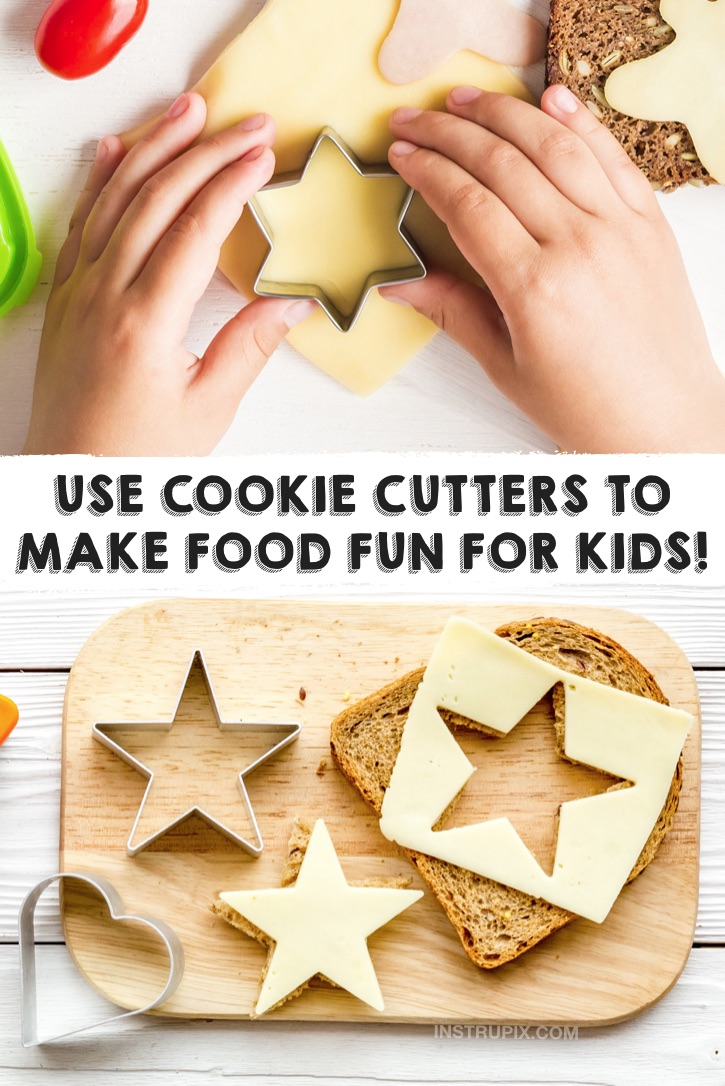 Fun food ideas for kids and picky eaters! Creative ways to get toddlers and kids to eat healthy snacks and meals. Lot of quick and easy snack ideas and simple recipes.