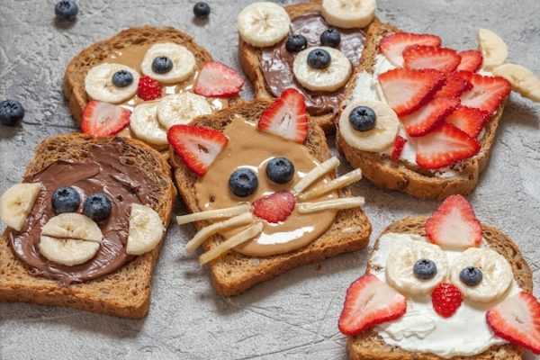 Silly Animal Toast