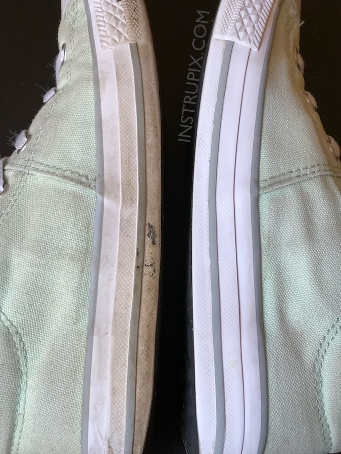How To Clean Converse Like Magic (or any rubber soles!)