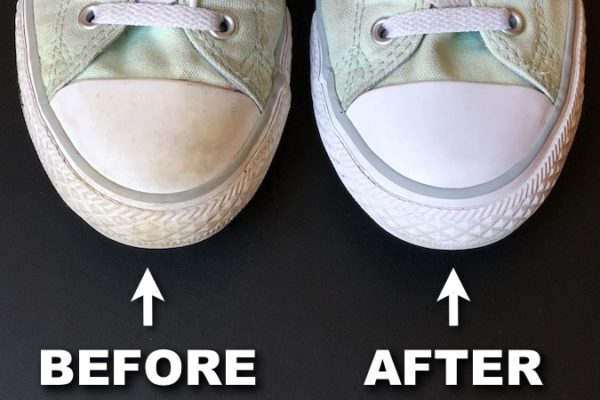 How To Clean Rubber Soles Like Magic With One Ingredient