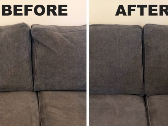 life hack! how to fix saggy couch cushions.