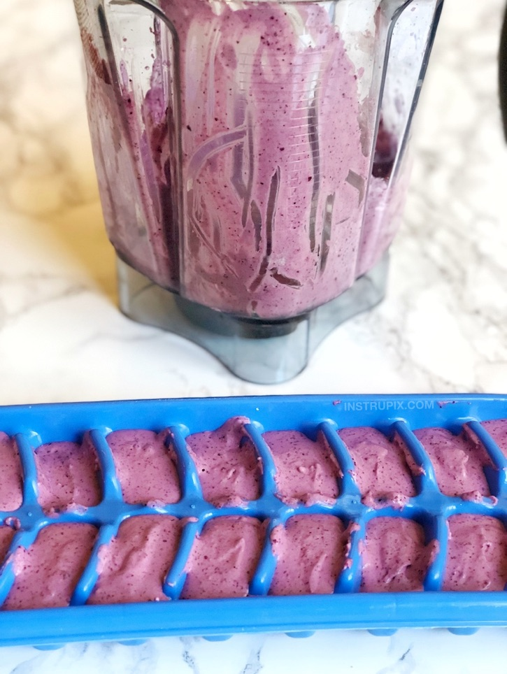 Easy Keto Blueberry Cheesecake Fat Bombs