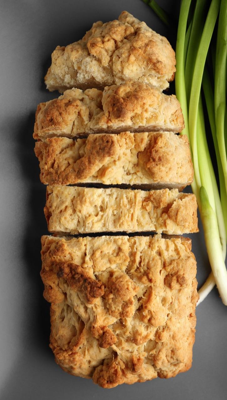 The BEST easy homemade beer bread recipe -- just 4 ingredients!