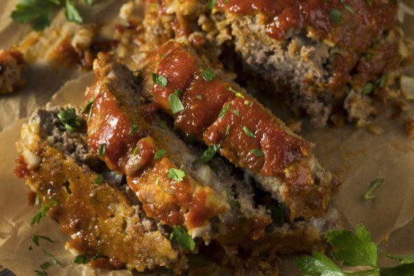 4 Ingredient Meatloaf (Ahhhmazing!)