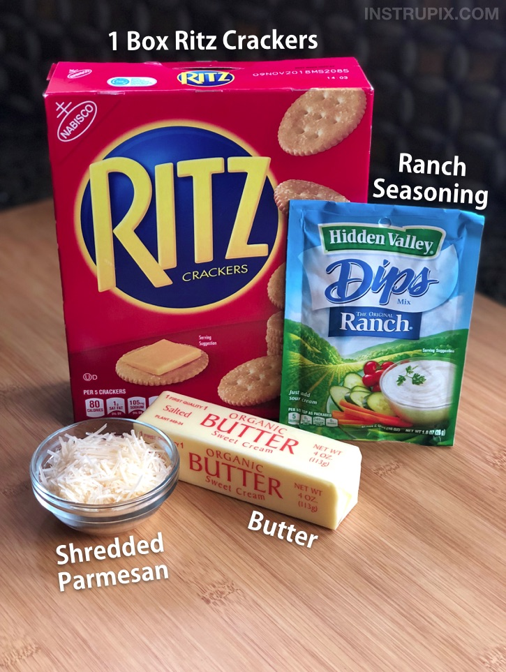 Zesty Bake Ritz Cracker Recipe