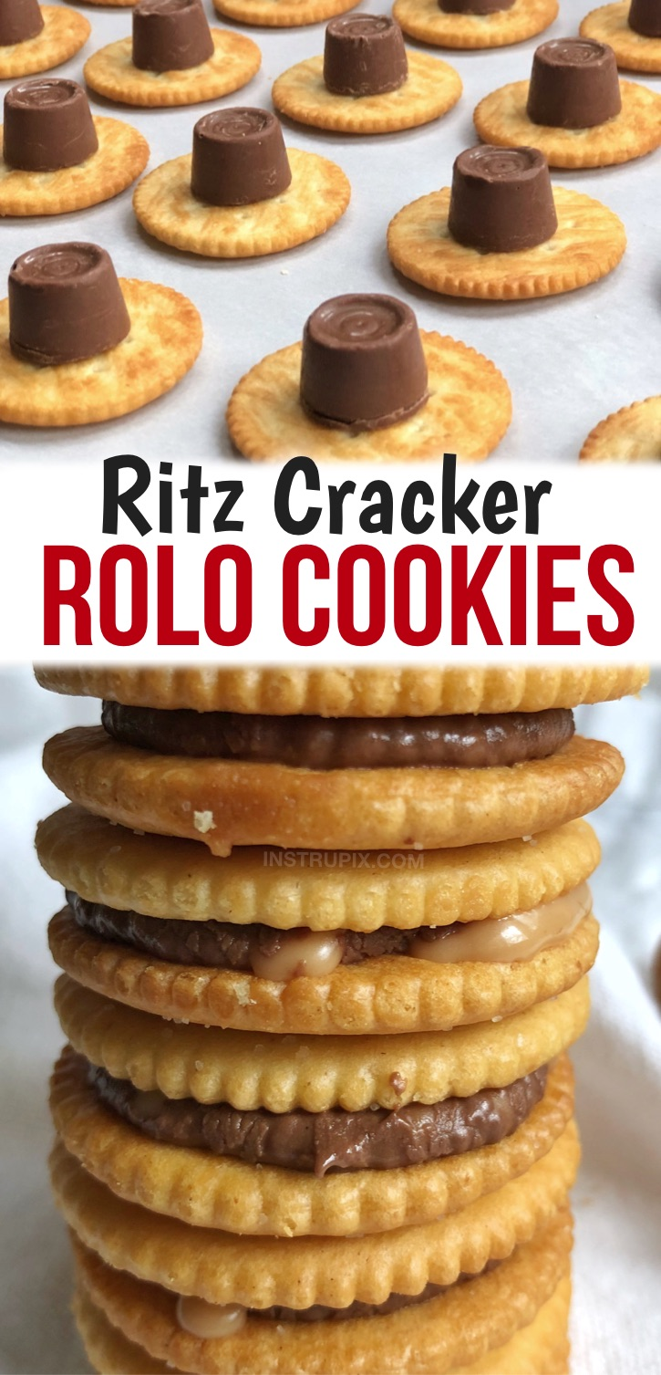 I'll bet you never knew there was so much fun in a box of Ritz crackers! These buttery and salty crackers have a divine texture that makes for some of the best little snacks, treats and appetizers. Whether it's a sweet treat or savory snack you are looking for, you will soon find out how these little crackers can make amazing little cookies, sandwiches and more. Although there are endless ways to dress them up, I've rounded up a few of my favorite quick and easy recipes.