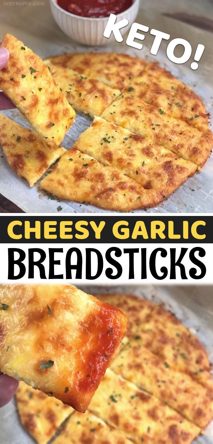 The Best Keto Snack In The World - This easy, cheesy, delicious keto recipe is made with just 4 simple ingredients: mozzarella, parmesan, an egg and garlic powder. That may not sound like much, but it's the perfect combination needed to make the best low carb snack you'll ever eat. With the minuscule amount of carbs in cheese and eggs, this easy recipe is almost zero carb. Yes, you can eat these guilt free. They are amazing served with a little tomato or marinara sauce, but just as good eaten alone. The best keto snack, ever!