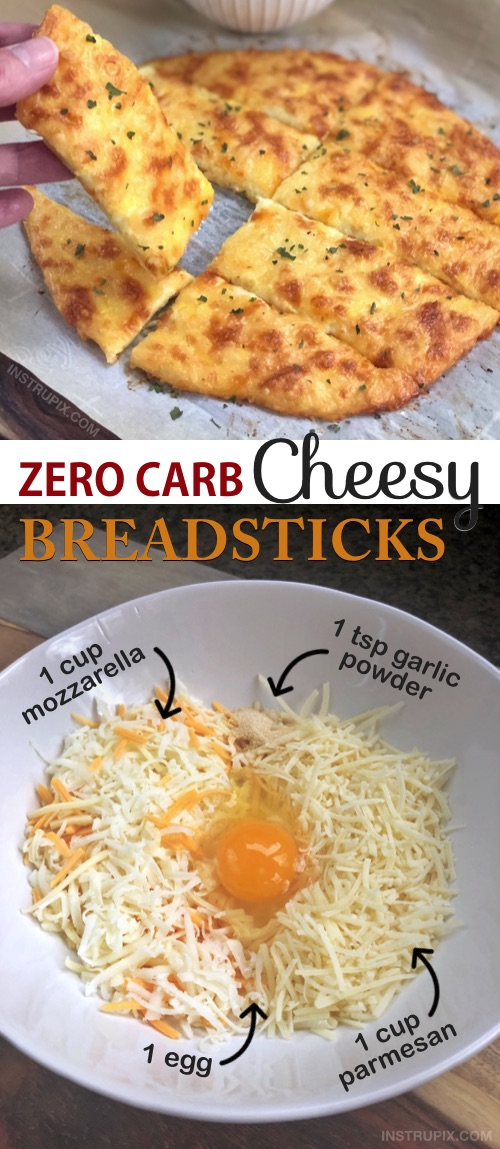 Keto Low Carb Cheese Bread with no eggy taste!