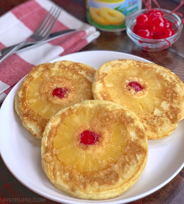 Easy Pineapple Upside Down Pancakes Recipe
