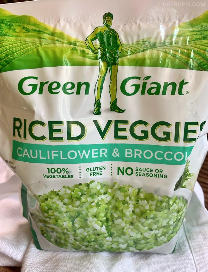 Cauliflower and Broccoli Rice
