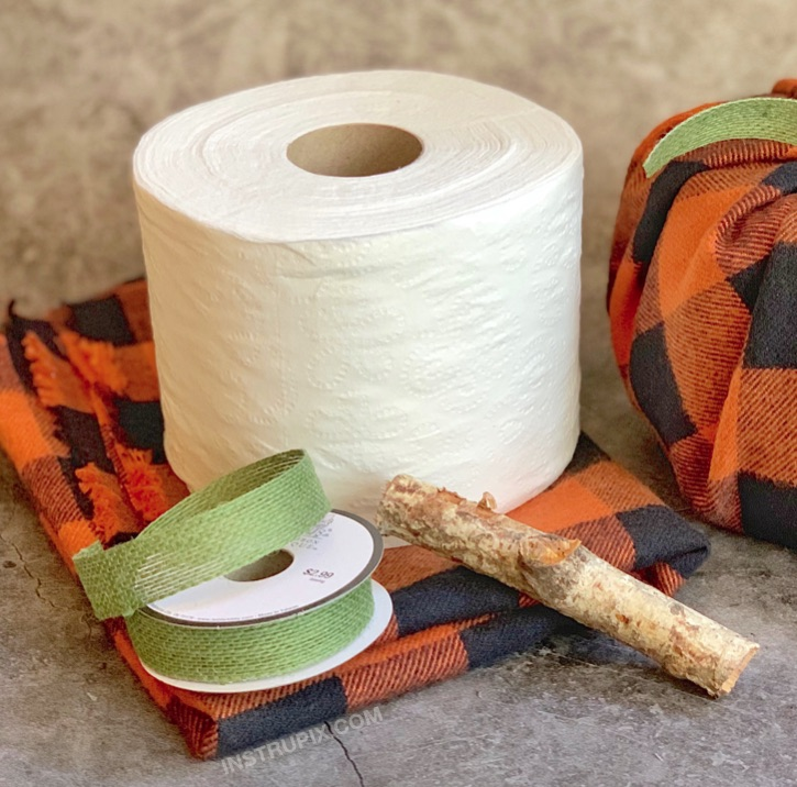 Toilet Paper Pumpkins - A cheap and easy Fall home decor idea! Great for Thanksgiving or Halloween.
