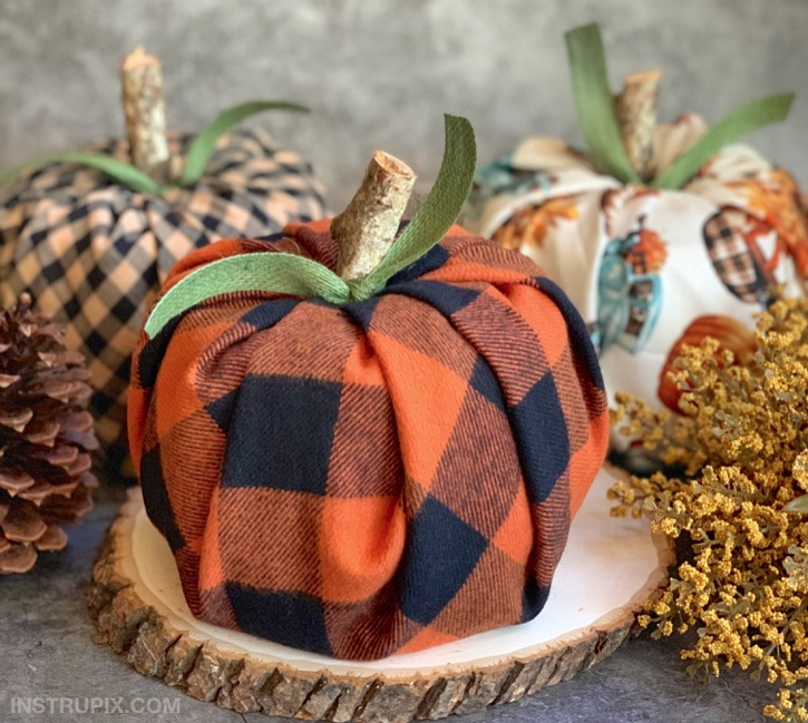 DIY Toilet Paper Pumpkins Craft Project