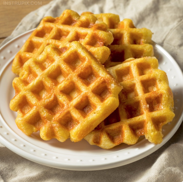 3 Ingredient Low Carb Chaffles Recipe