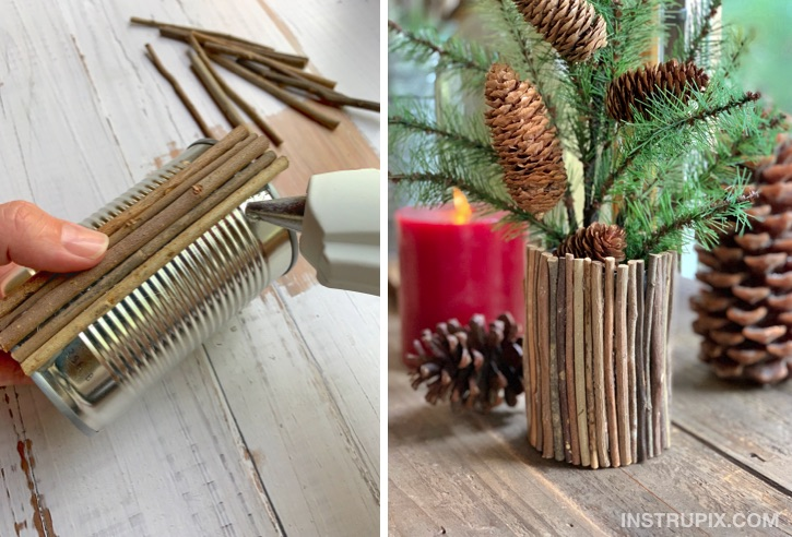 Easy and Cheap Craft Idea For Kids and adults! Tin Can Upcycle ideas!