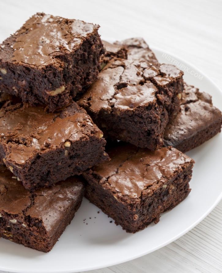 easy dessert recipes for keto Easy Keto Brownies - Instrupix