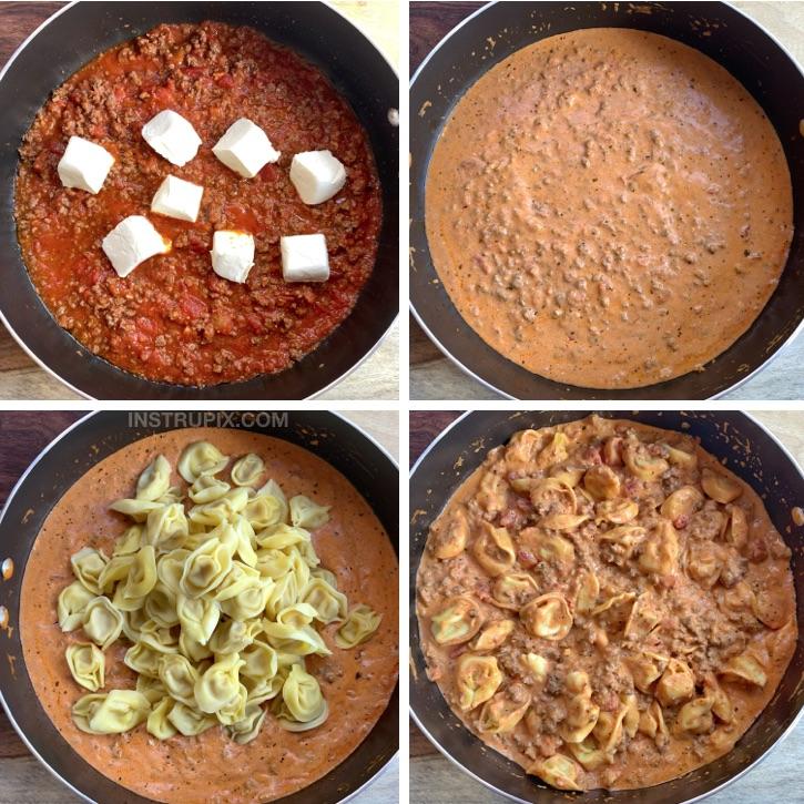 Easy Cheesy Baked Tortellini Recipe