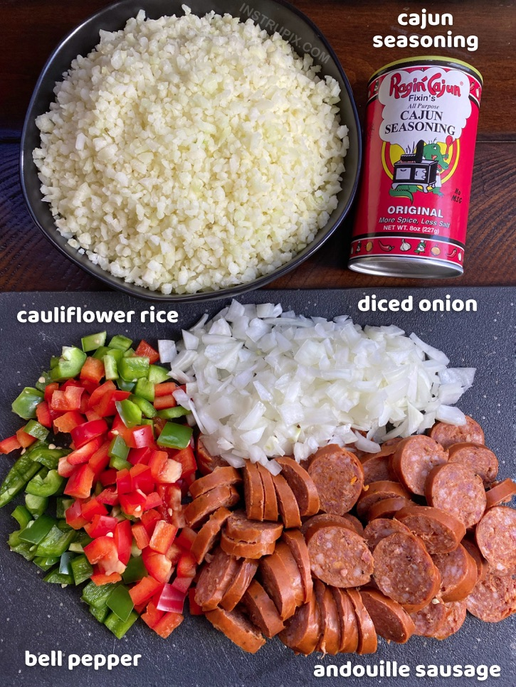 Quick and Easy Cajun Cauliflower Rice Recipe