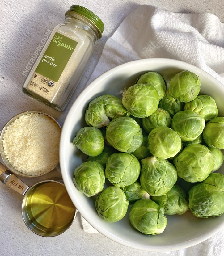 How to make crispy smashed brussels sprouts!